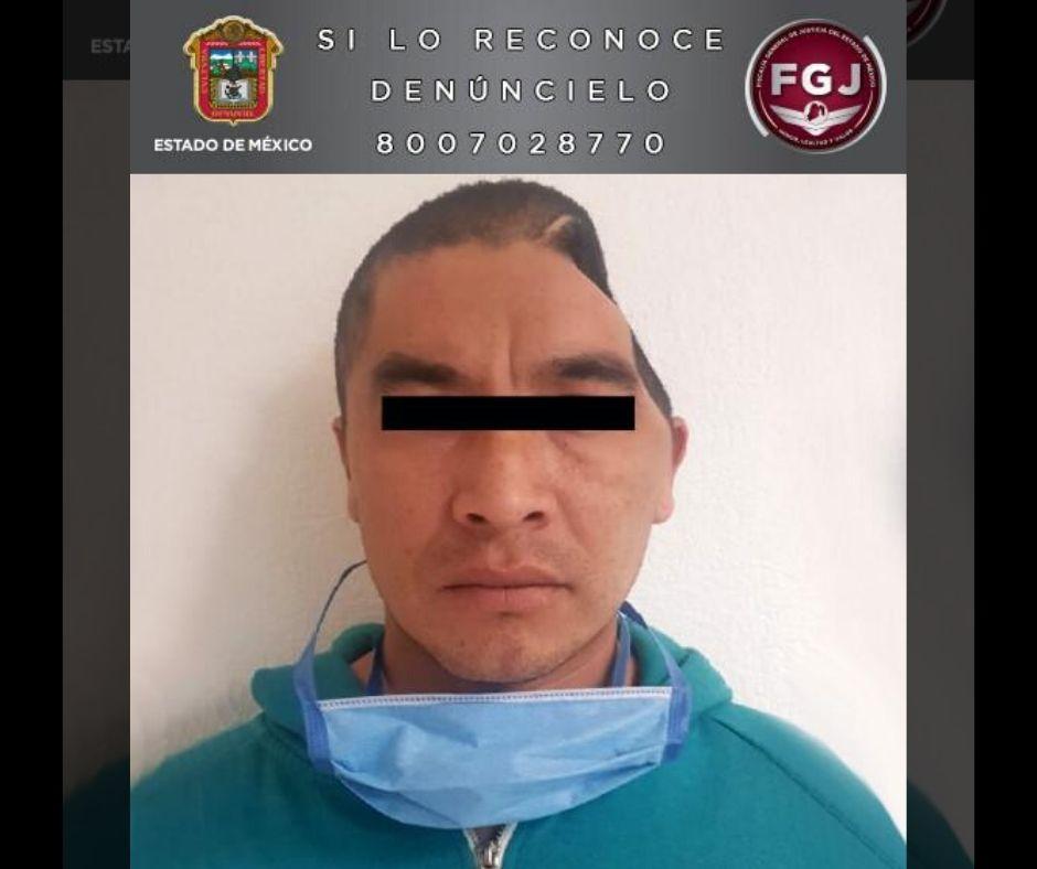 FGJEM APREHENDE A SOSPECHOSO DE HOMICIDIO EN OCOYOACAC