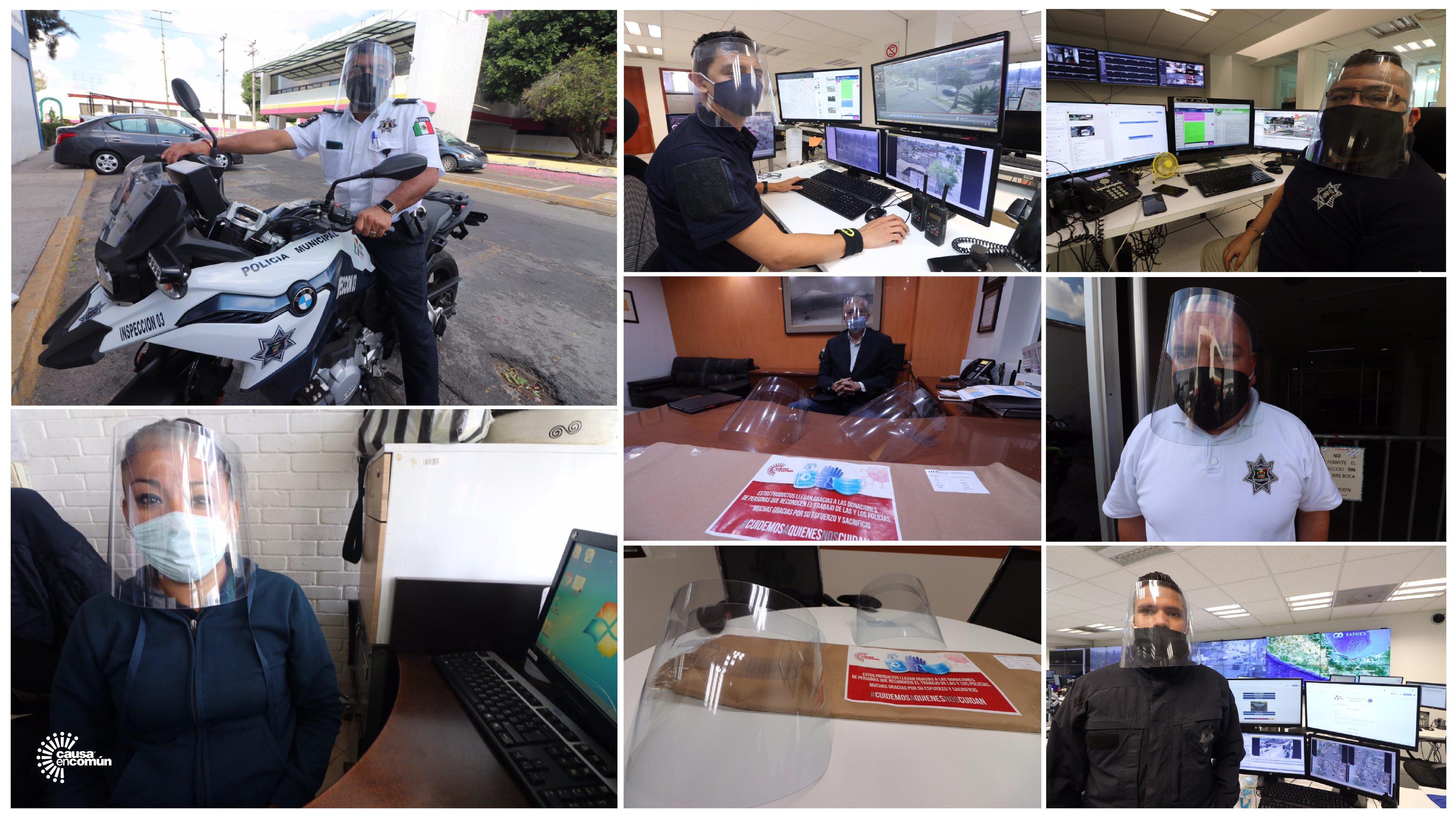 BUSCAN DONAR INSUMOS DE PROTECCIÓN PARA POLICÍAS