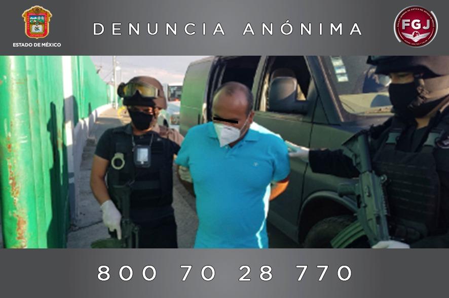 CUMPLIMENTA FGJEM ORDEN DE APREHENSIÓN EN CONTRA DEL ALCALDE DE ZACUALPAN POR HOMICIDIO